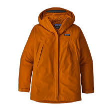 2019 Patagonia Womens Departer Snow Jacket in Marigold S