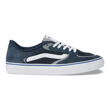 Vans Rowley Rapidweld Pro Shoe in Navy and White