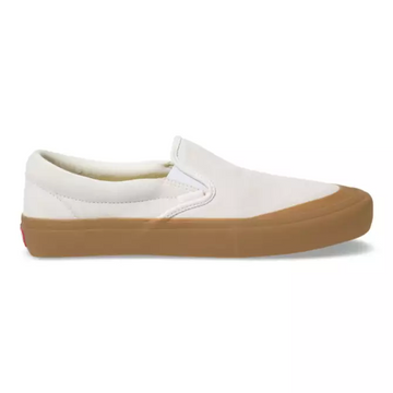 Vans Slip On Pro in Marshmallow and Gum