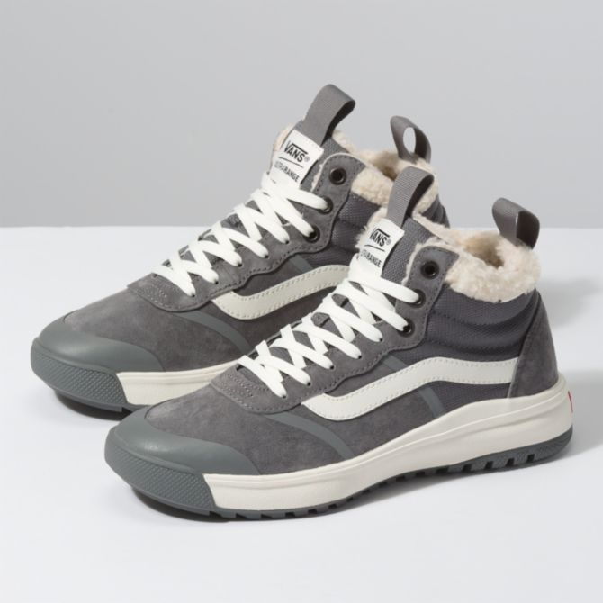Vans UltraRange HI DL MTE in Sherpa and Quiet Shade
