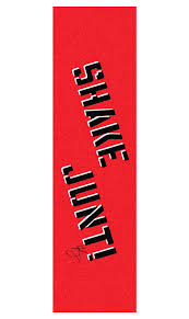 Shakejunt Red and Black Grip Tape
