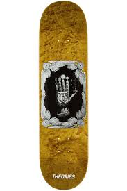 Hand of Theories skate deck