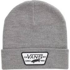 Vans Milford Beanie in Heather Grey
