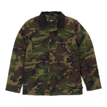Vans Mens Drill Chore Coat in Camo