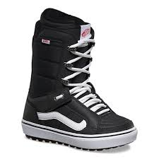 2022 Vans Hi-Standard Womens Og Snowboard Boot in Black and White