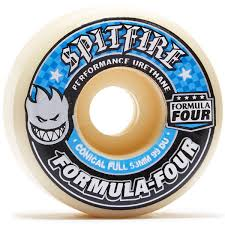 Spitfire Formula Four Conical Full Skate Wheel 99 Durometer 58mm