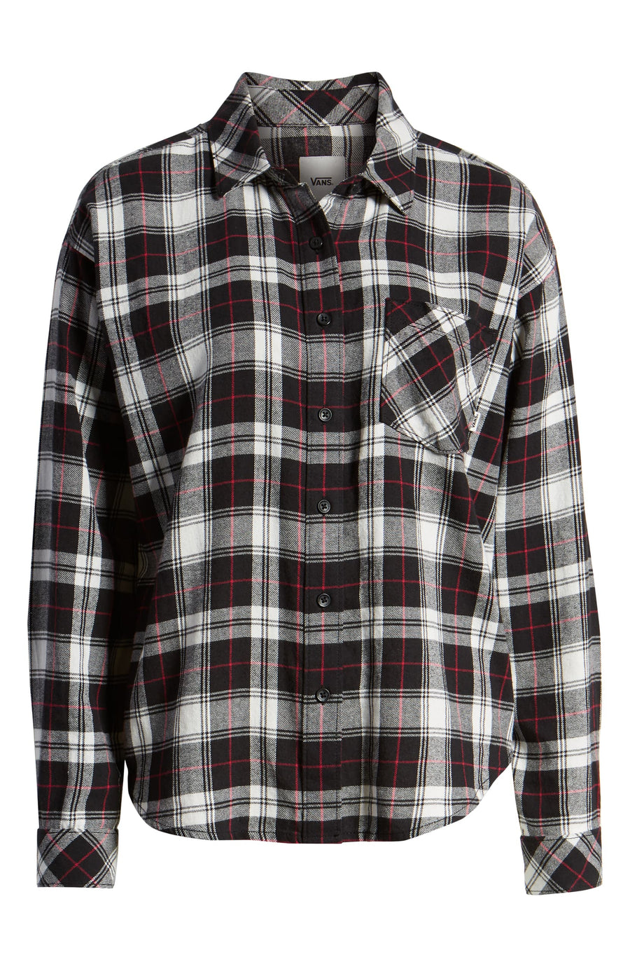 Vans Womens Brimms II Flannel in Black