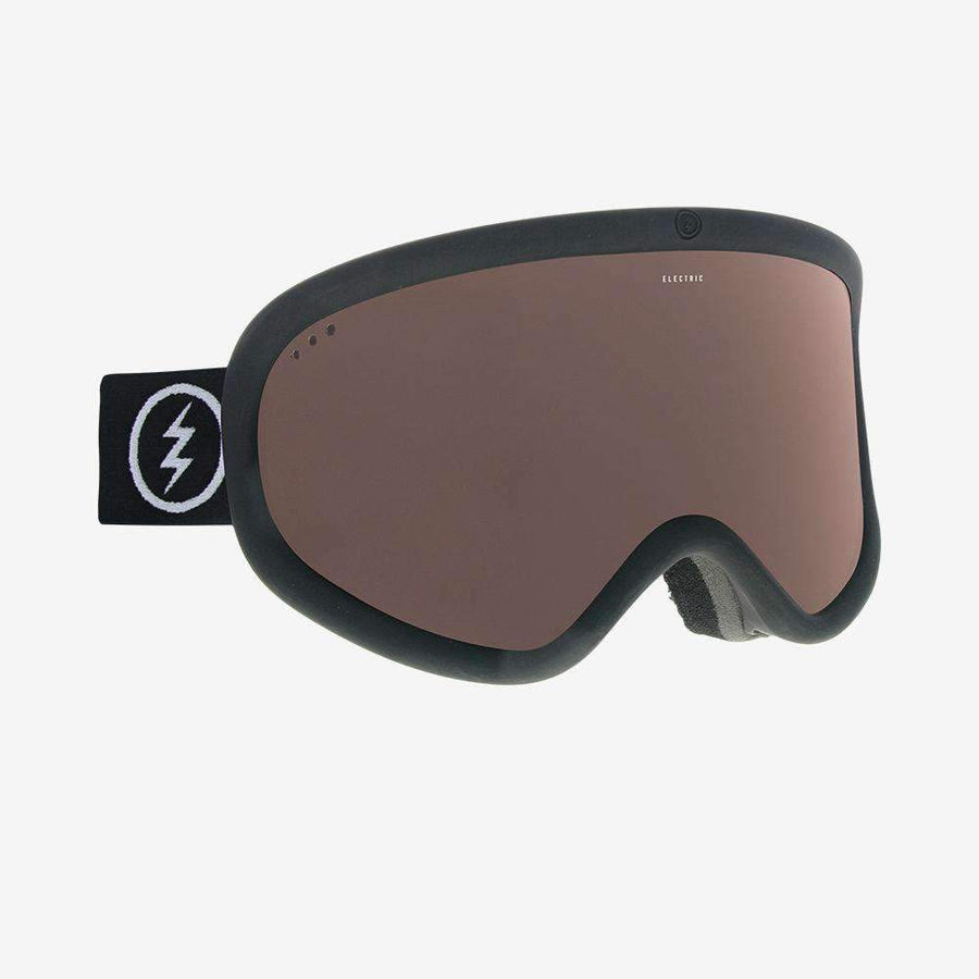 2020 Electric Charger XL Snow Goggle with a Matte Black Frame and Brose Lens