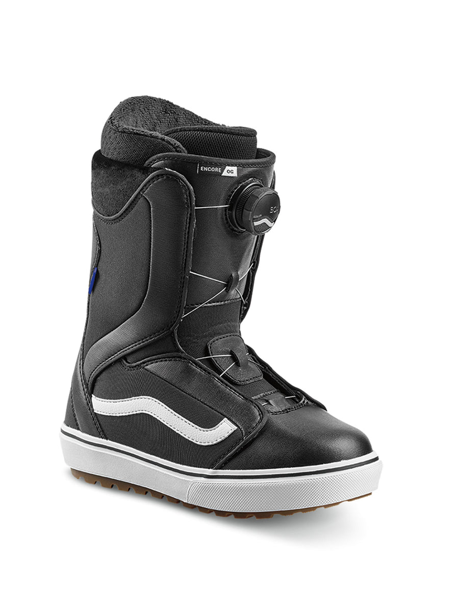 2020 Vans Encore OG Womens Snowboard Boots in Black and White