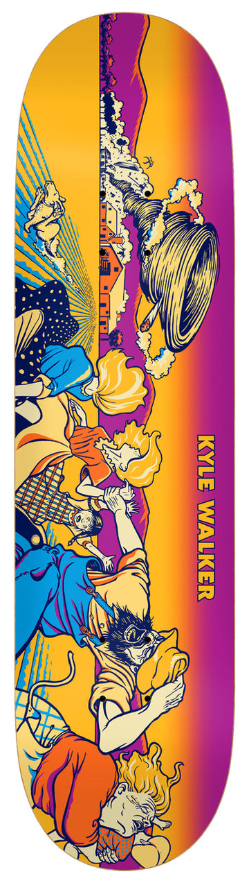 Real Kyle Walker Twister Skate Deck in 8.38