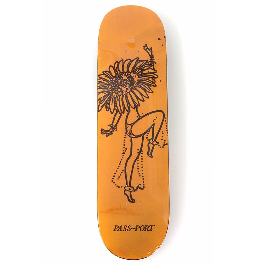 Passport Skateboards Floral Dancer in 8.0