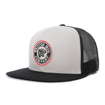 Brixton Forte MP Mesh Cap in Black and Silver