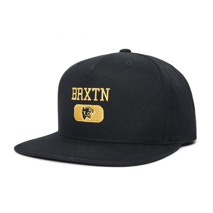 Brixton Forte VI MP Snapback in Black