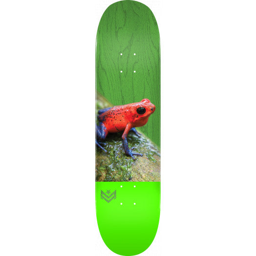 Mini Logo Poison Dart Frog Skate Deck in 8.5