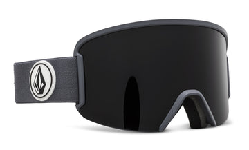 2021 Electric Volcom Garden Snow Goggle in Gray Frames with a Dark Gray Lens