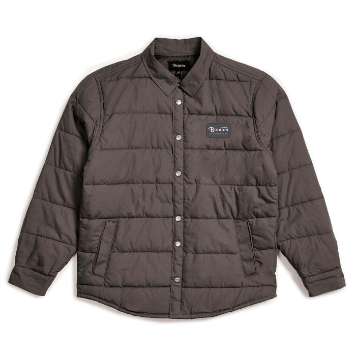 Brixton Grade Cass Jacket in Charcoal