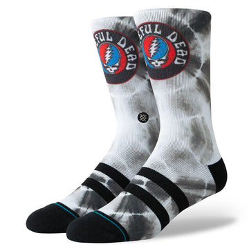 Stance Grateful Dye Sock in Black