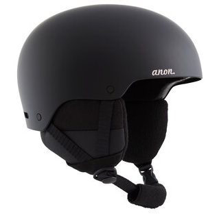 2021 Anon Greta 3 MIPS Helmet in Black