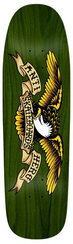 Antihero Eagle Green Giant Skateboard Deck in 9.56''