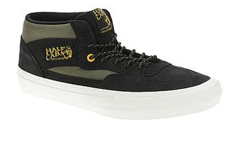 Vans Half Cab Pro in Black and Military