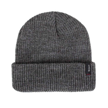 Brixton Heist Beanie in Heather Grey