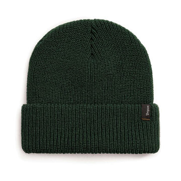Brixton Heist Beanie in Hunter Green