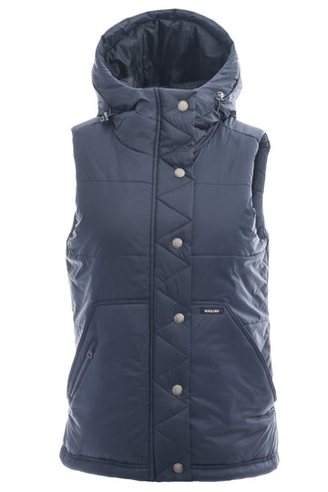 2018 Holden Womens Willow Vest in Navy Blue M