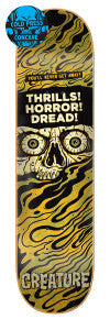 Creature Horror Feature Skate Deck in 8.5''