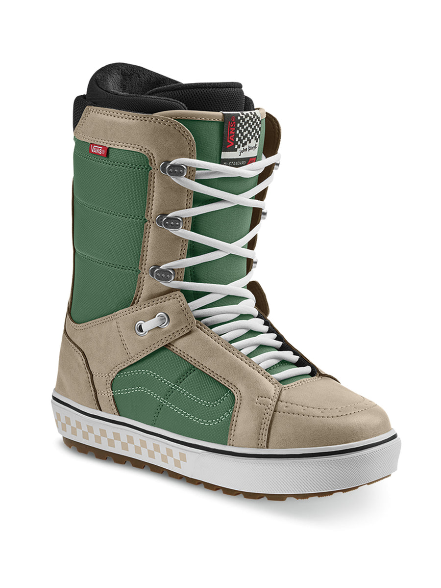 2020 Vans Hi Standard OG Mens Snowboard Boots in Green and Khaki (Jake Kuzyk)