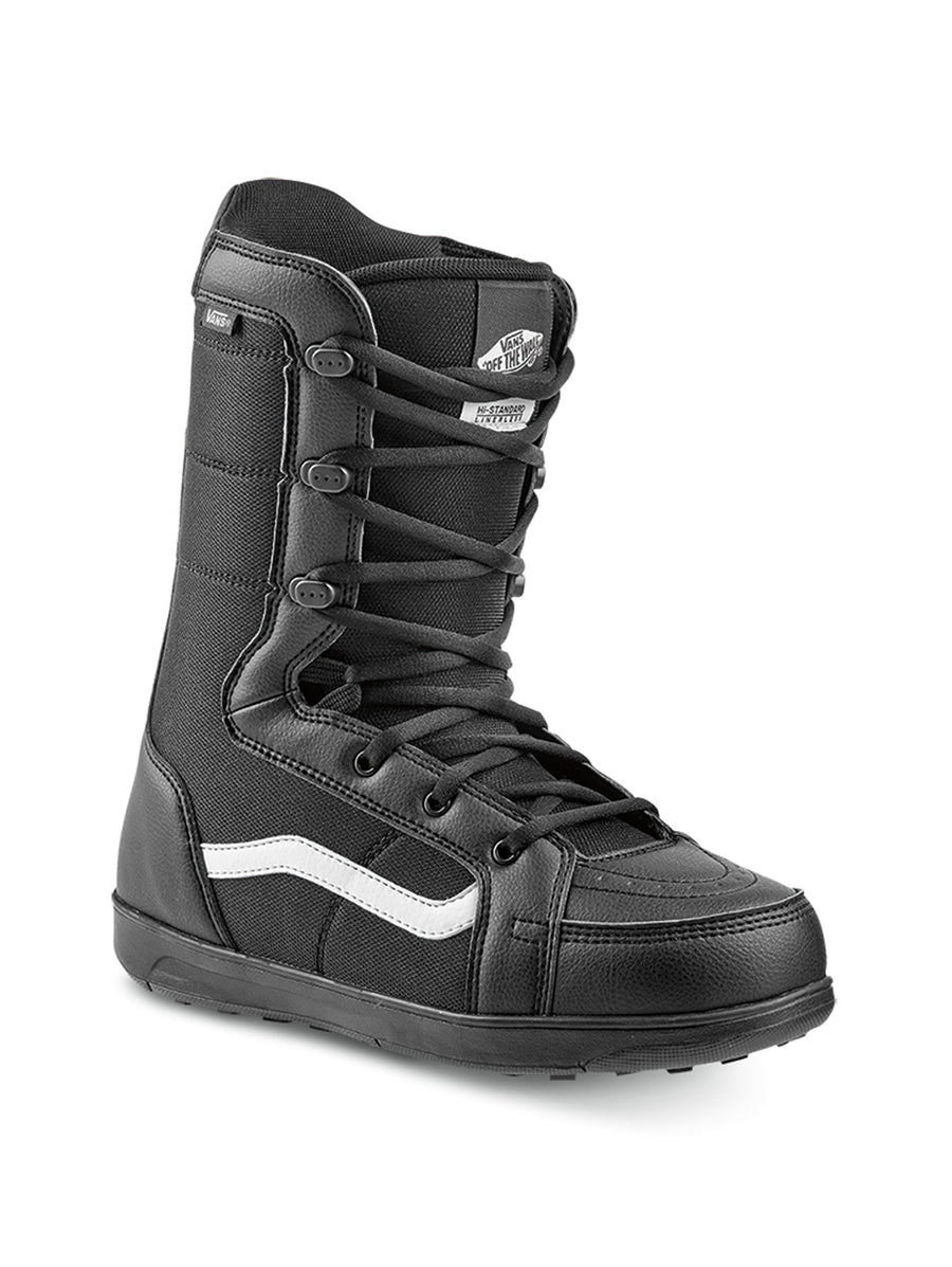 2020 Vans Hi Standard Linerless Mens Snowboard Boots in Black and White