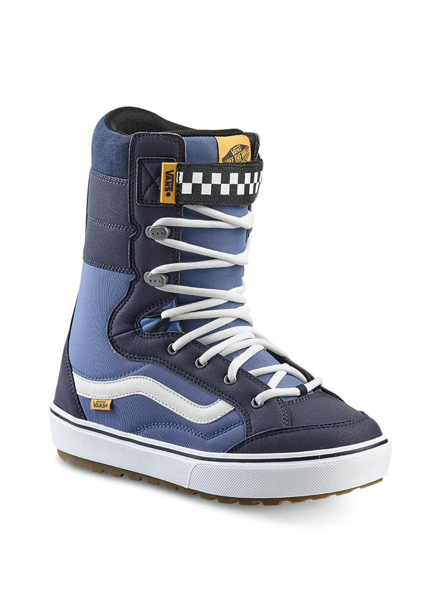 2020 Vans Hi Standard Linerless DX Mens Snowboard Boots in Navy and White
