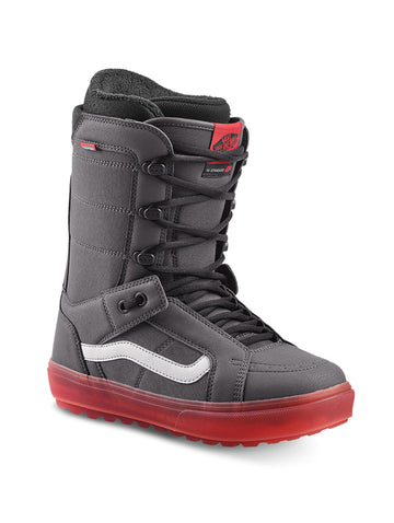2020 Vans Hi Standard OG Mens Snowboard Boots in Grey and Red