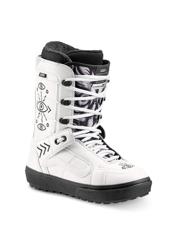 2020 Vans Hi Standard OG Womens Snowboard Boots in Black and White (Shallowtree)
