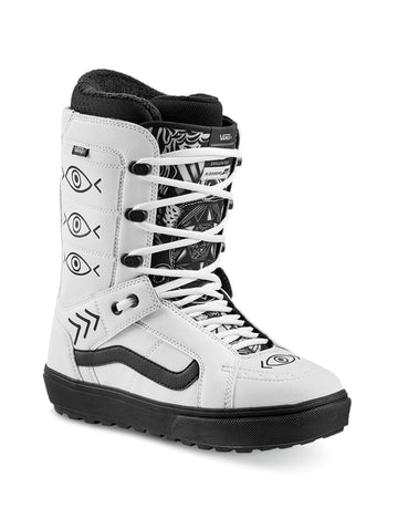 2020 Vans Hi Standard OG Mens Snowboard Boots in White and Black (Shallowtree)