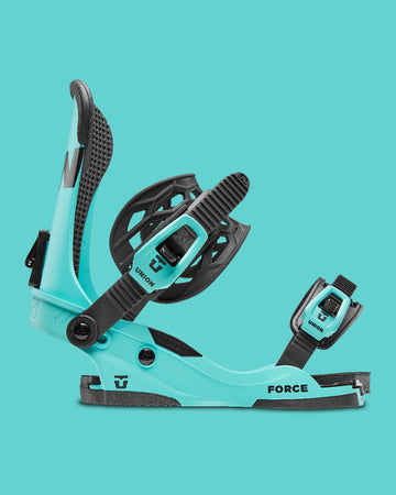 2021 Union Custom House Force Snowboard Binding in Blue