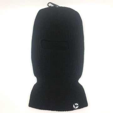 Milosport Bird Knit Clava Face Mask in Black