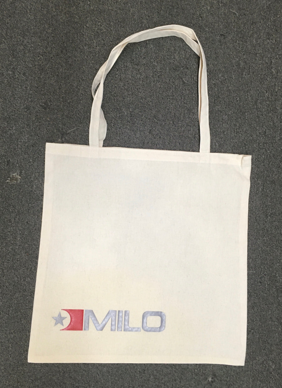 Milosport Canvas Flag Reusable Bag