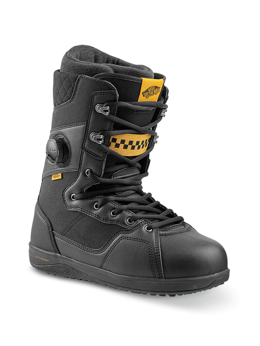 2020 Vans Implant Pro Mens Snowboard Boots in Black and Yellow