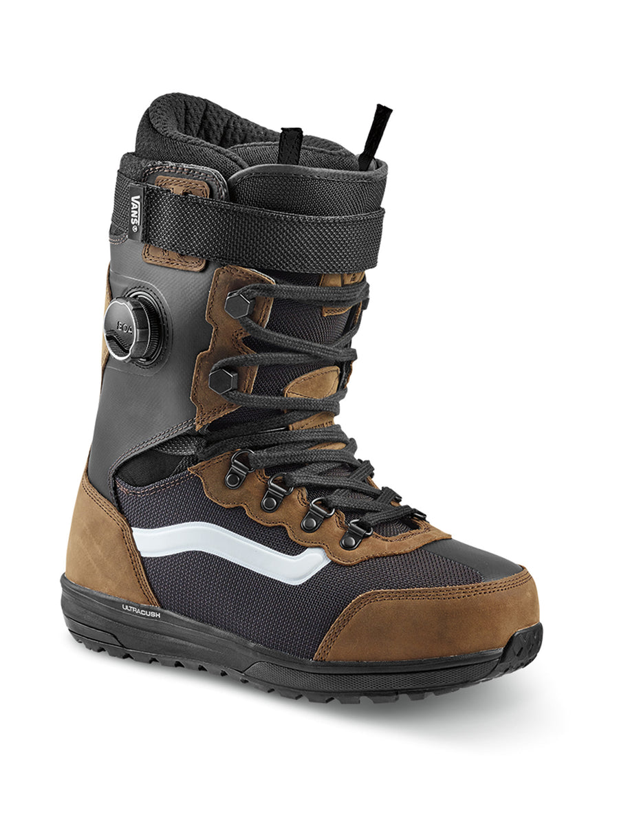 2020 Vans Infuse Mens Snowboard Boots in Brown and Black (Pat Moore)