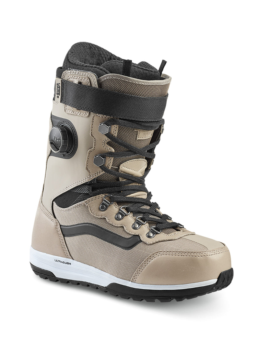 2020 Vans Infuse Mens Snowboard Boots in Khaki and Black