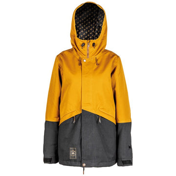 2020 L1 Lalena Womens Snow Jacket in Tobacco and Black