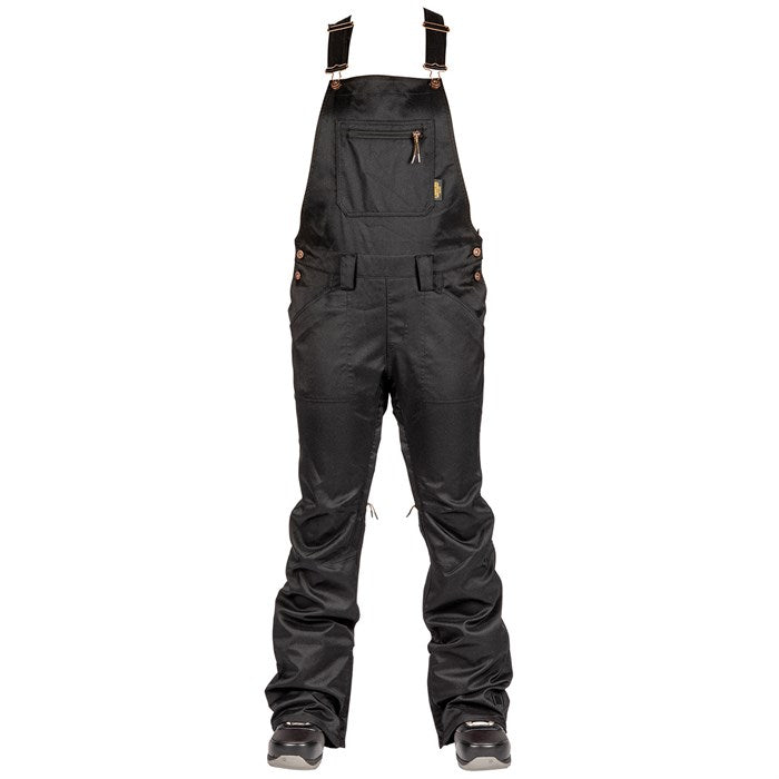 2020 L1 Loretta Womens Snow Overall Pants in Black