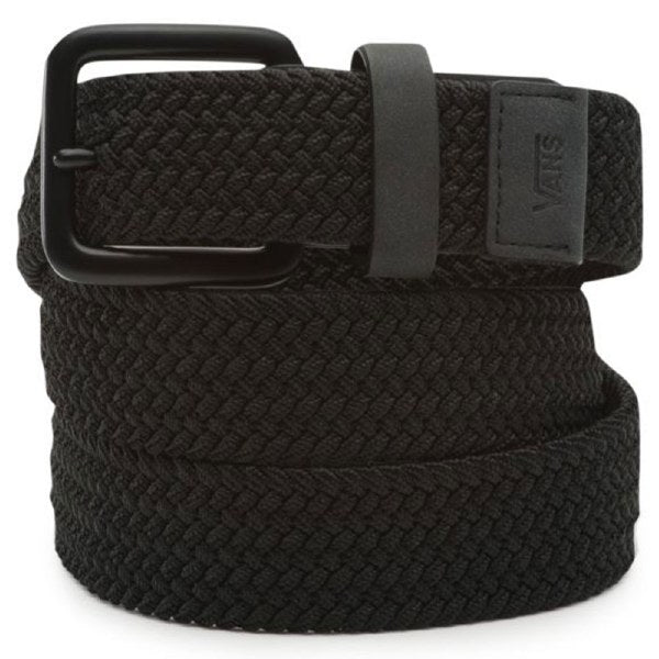 Vans Harington Braided Belt in Black