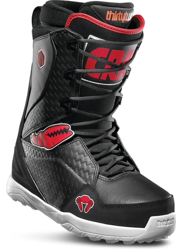 2020 Thirty Two (32) Lashed Snowboard Boot in Crab Grab (Black Red and White)