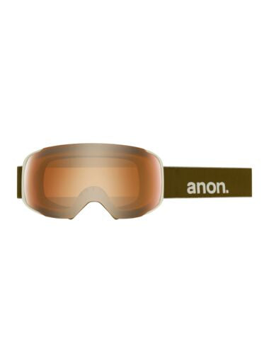 2020 Anon M2 with SPR Mens Snow Goggle in Olive with a Sonar Bronze Lens