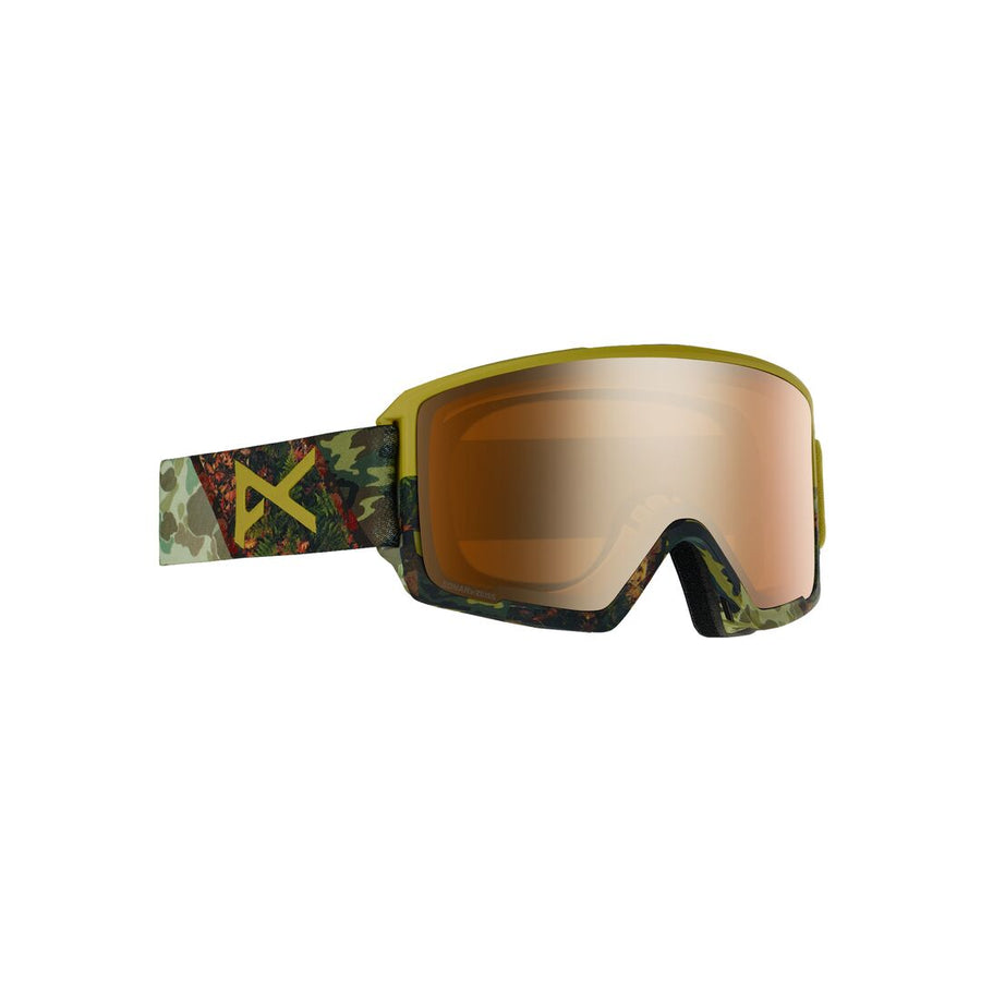 2020 Anon M3 with SPR Mens Snow Goggle in Camo with a Sonar Bronze Lens