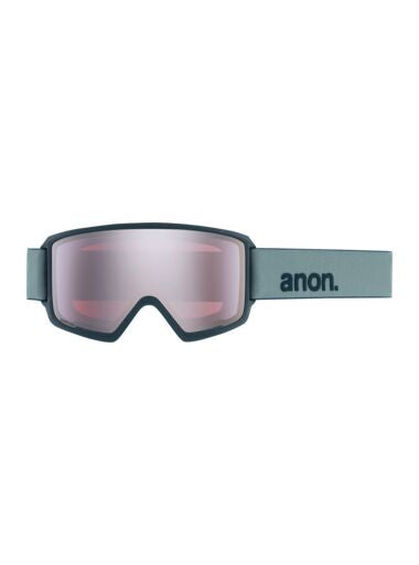 2020 Anon M3 with SPR Mens Snow Goggle in Gray with a Sonar Silver Lens