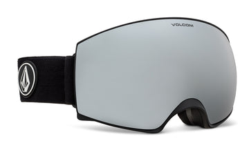 2021 Electric Volcom Magna Snow Goggle in Black Frames with a Bronze Chrome Lens