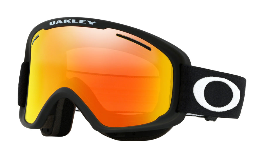 2020 Oakley O Frame 2.0 Pro XM Snow Goggle in Matte Black and Fire Iridium