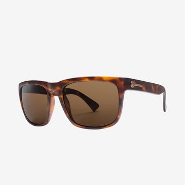 Electric Knoxville Sunglass XL in Matte Tortoise Frames and a Bronze Polarized Lens
